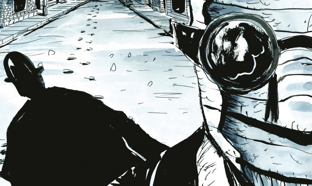 Roman Graphique : THE NOBODY de Jeff Lemire sur Quatre Sans Quatre